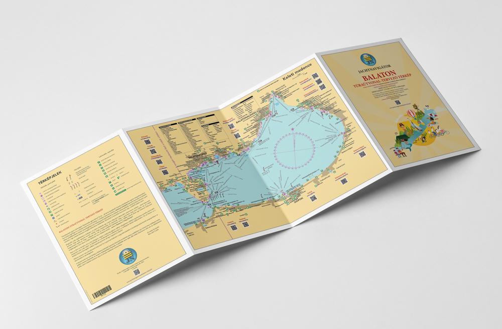 Balatoni túraútvonal-tervező térkép