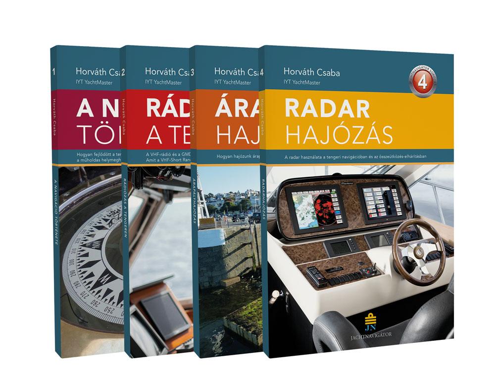 Jachtnavigator kiskönyvtár sorozat