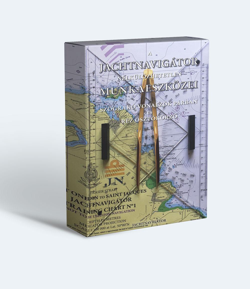 Jachtnavigátor navigációs készlet szkippereknek