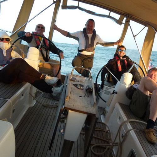 jachtkapitány tréning, Anglia-Csatorna-szigetek-Franciaország
